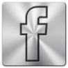 Image result for facebook silver logo